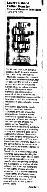 Jane Barry's Review (Brisbane Courier Mail, 19/03/2011)